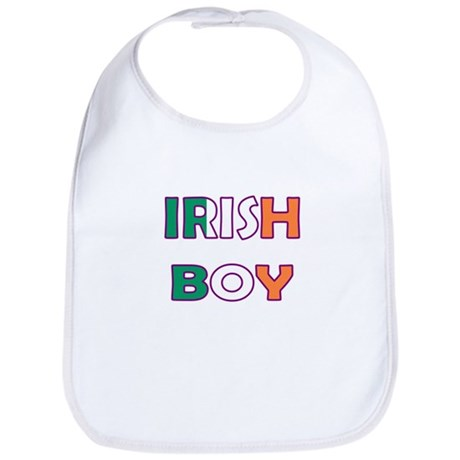 Irish Boy Bib