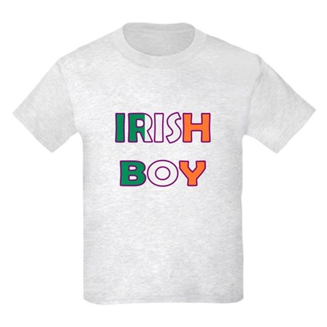 Irish Boy Kids Light T-Shirt