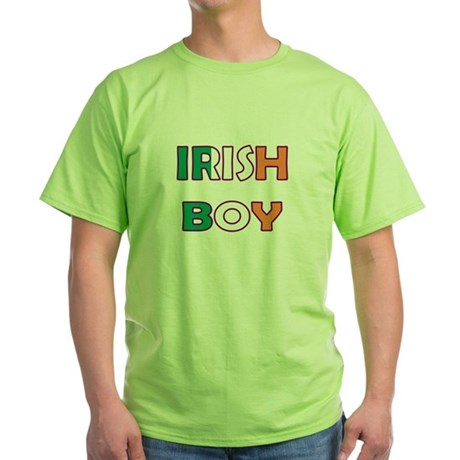 Irish Boy Green T-Shirt