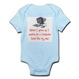 Computer Geek Infant Bodysuit