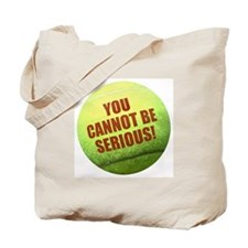 SERIOUS TENNIS Ball Tote Bag