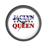 JACLYN for queen Wall Clock