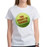 SERIOUS TENNIS Tee-Shirt