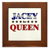 JACEY for queen Framed Tile