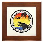 Miami Sky Marshal Framed Tile