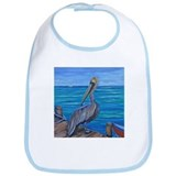 Pelican on The Pier Bib