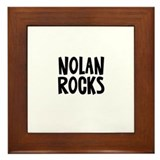 Nolan Rocks Framed Tile