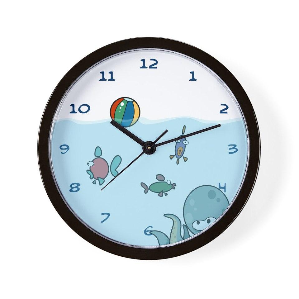 Bathroom Gifts Bathroom Clocks Fish Tank Wall Clock On Popscreen