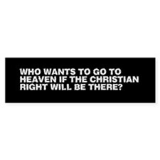 Who wants to go to heaven...
