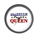 ISABELLE for queen Wall Clock