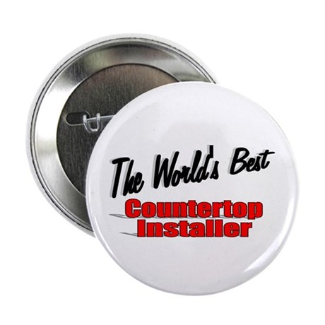 """The World's Best Countertop Installer"" 2.25"" Butt"