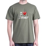 I Love Elmer (W) T-Shirt