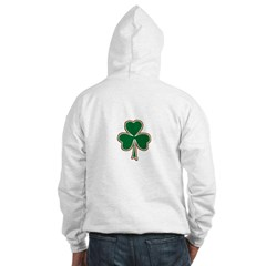 Irish Clover Hooded Sweatshirt