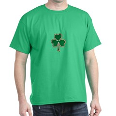 Irish Clover Dark T-Shirt