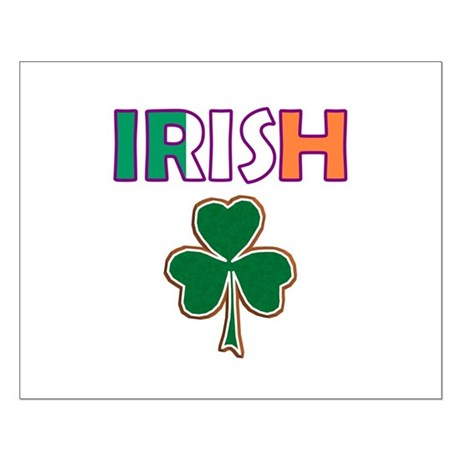 Irish Shamrock Small Poster