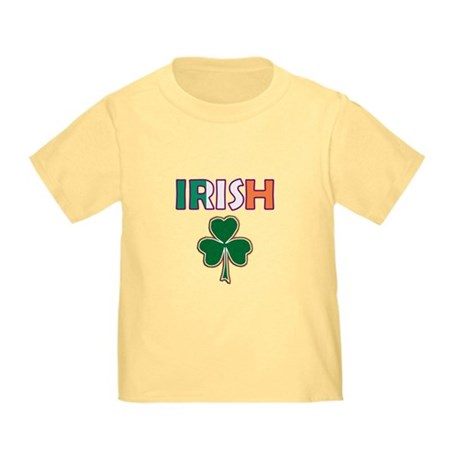 Irish Shamrock Toddler T-Shirt