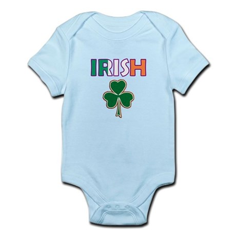 Irish Shamrock Infant Bodysuit