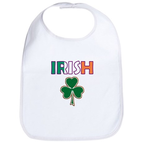 Irish Shamrock Bib
