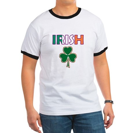 Irish Shamrock Ringer T
