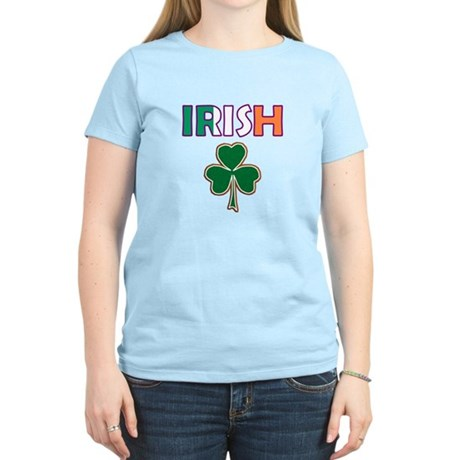 Irish Shamrock Women's Light T-Shirt