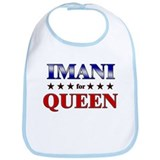 IMANI for queen Bib