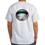 Powered Parachuting in Space Ash Grey T-Shirt