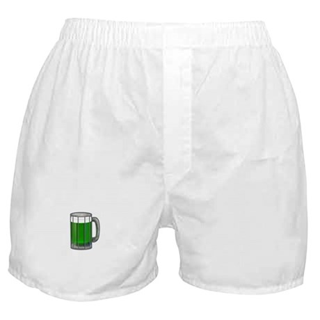 Mug of Green Beer Boxer Shorts