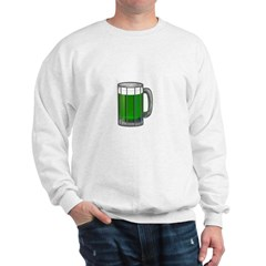 Mug of Green Beer Sweatshirt