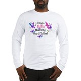 YiaYia Heart Flutter Long Sleeve T-Shirt