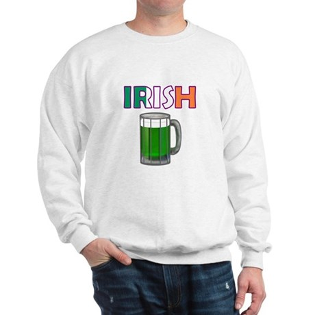 Irish Green Beer Sweatshirt