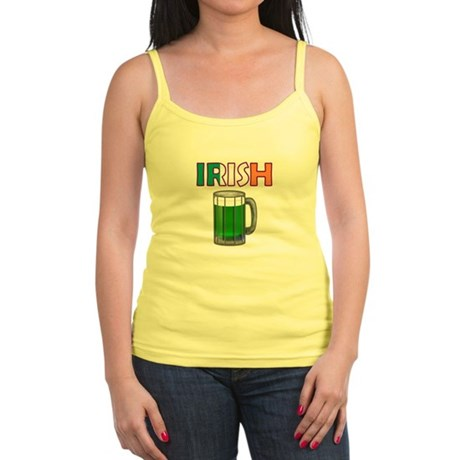 Irish Green Beer Jr. Spaghetti Tank