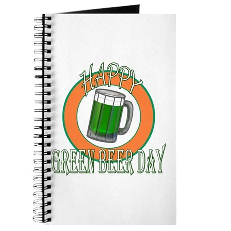 Happy Green Beer Day Journal