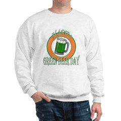 Happy Green Beer Day Sweatshirt