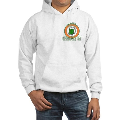 Happy Green Beer Day Hooded Sweatshirt