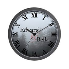 Edward & Bella Wall Clock