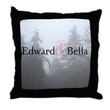 Edward & Bella Throw Pillow