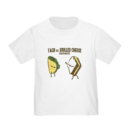 Taco VS Grilled Cheese Toddler T-Shirt