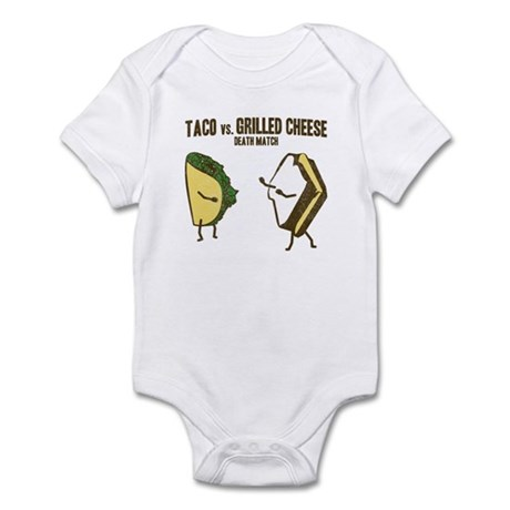 Taco VS Grilled Cheese Infant Bodysuit