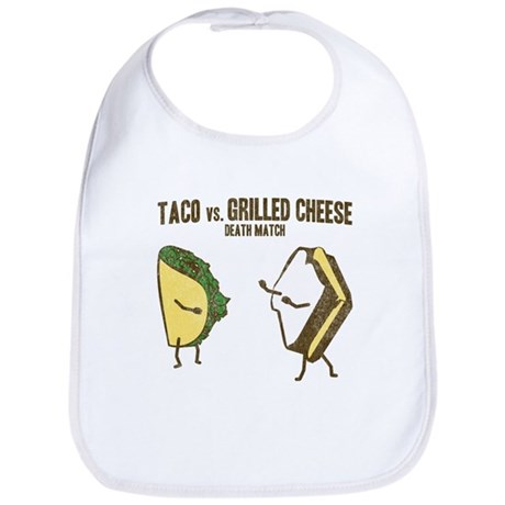 Taco VS Grilled Cheese Bib
