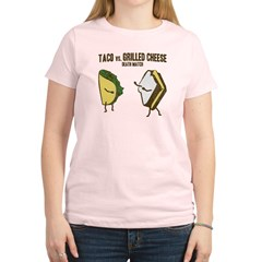 Taco VS Grilled Cheese Women's Light T-Shirt