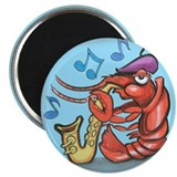 "Cute Crawdad 2.25"" Magnet (10 pack)"