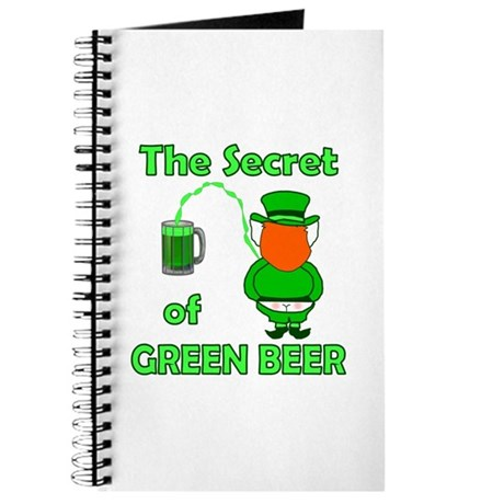Funny Green Beer Journal