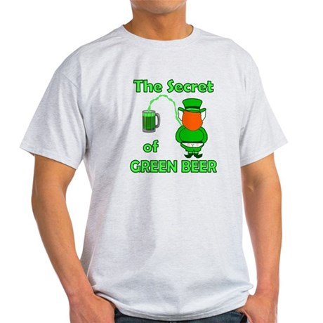 Funny Green Beer Light T-Shirt