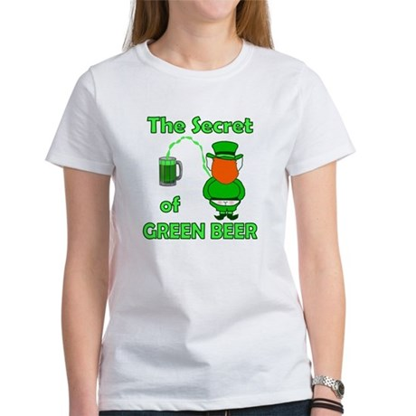 Funny Green Beer Women's T-Shirt