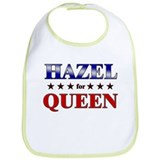 HAZEL for queen Bib