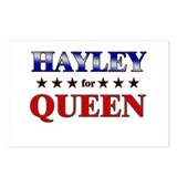 HAYLEY for queen Postcards (Package of 8)