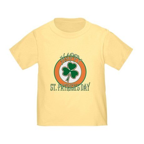 Happy St Patricks Day Shamrock Toddler T-Sh