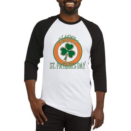 Happy St Patricks Day Shamrock Baseball Jersey