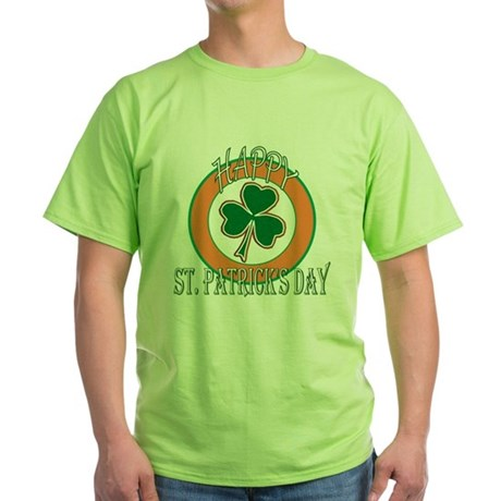 Happy St Patricks Day Shamrock Green T-Shirt