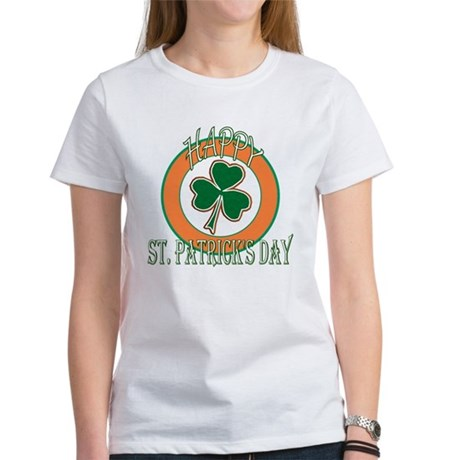 Happy St Patricks Day Shamrock Women's T-Shirt